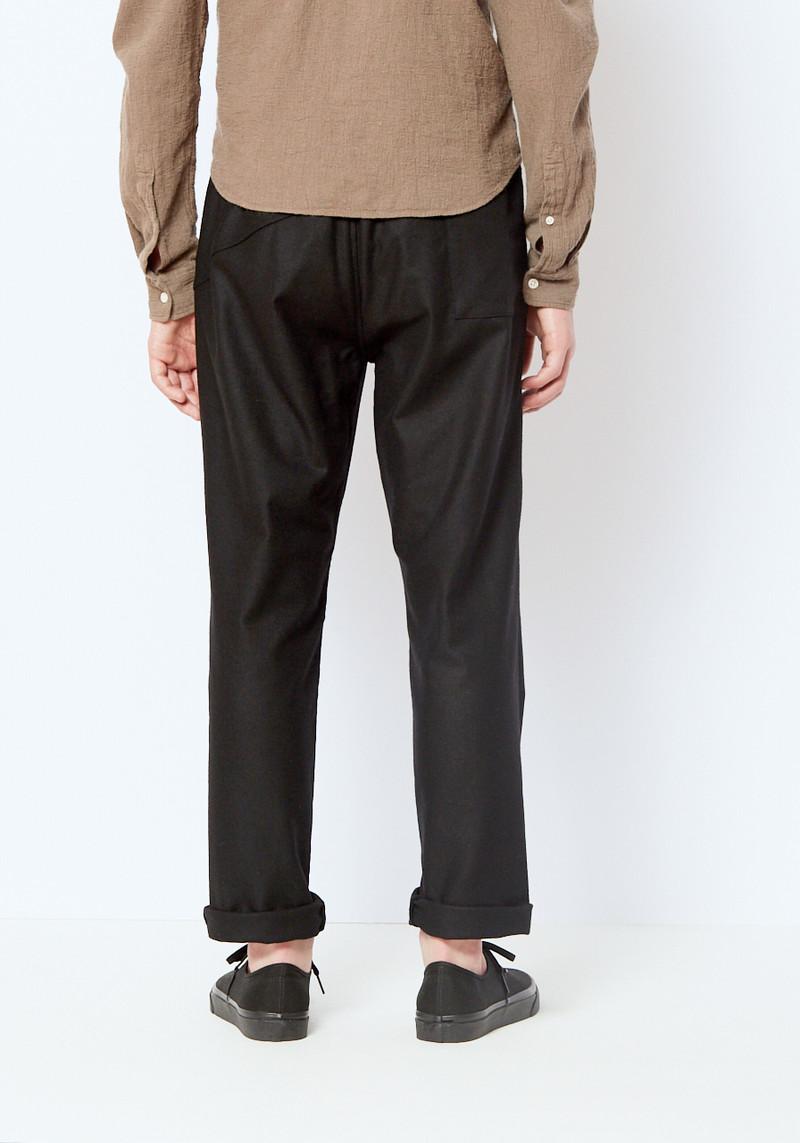 You Must Create Black Wool Alva Pant
