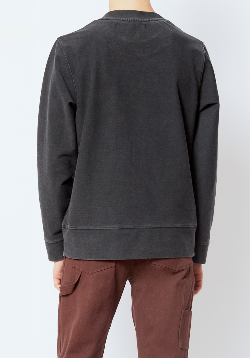 L'Homme rouge grey sweatshirt with wrench
