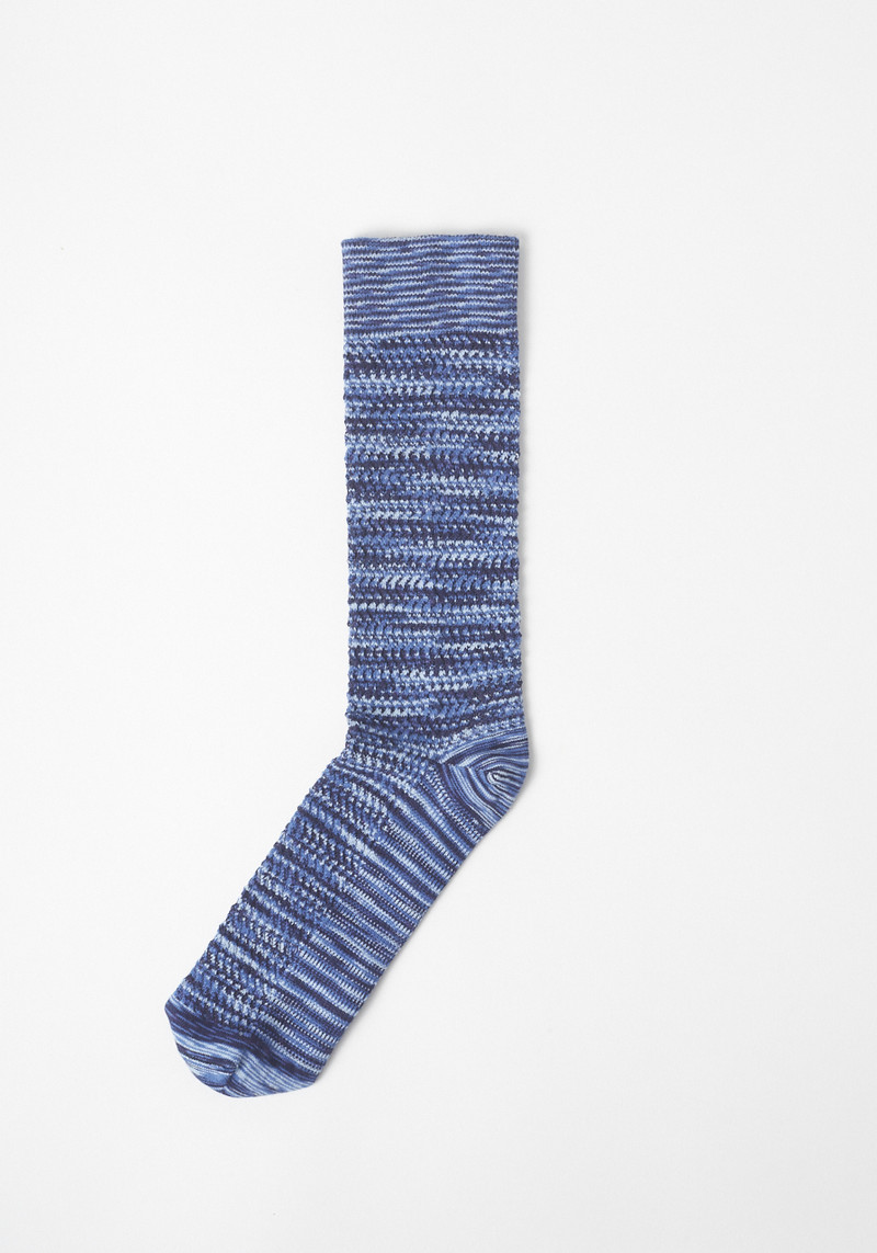 ace and everett blue spack dye sock
