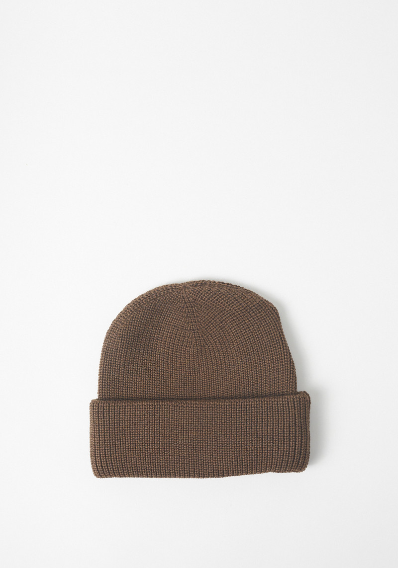 L'Homme Rouge Gold Brown Worker Hat