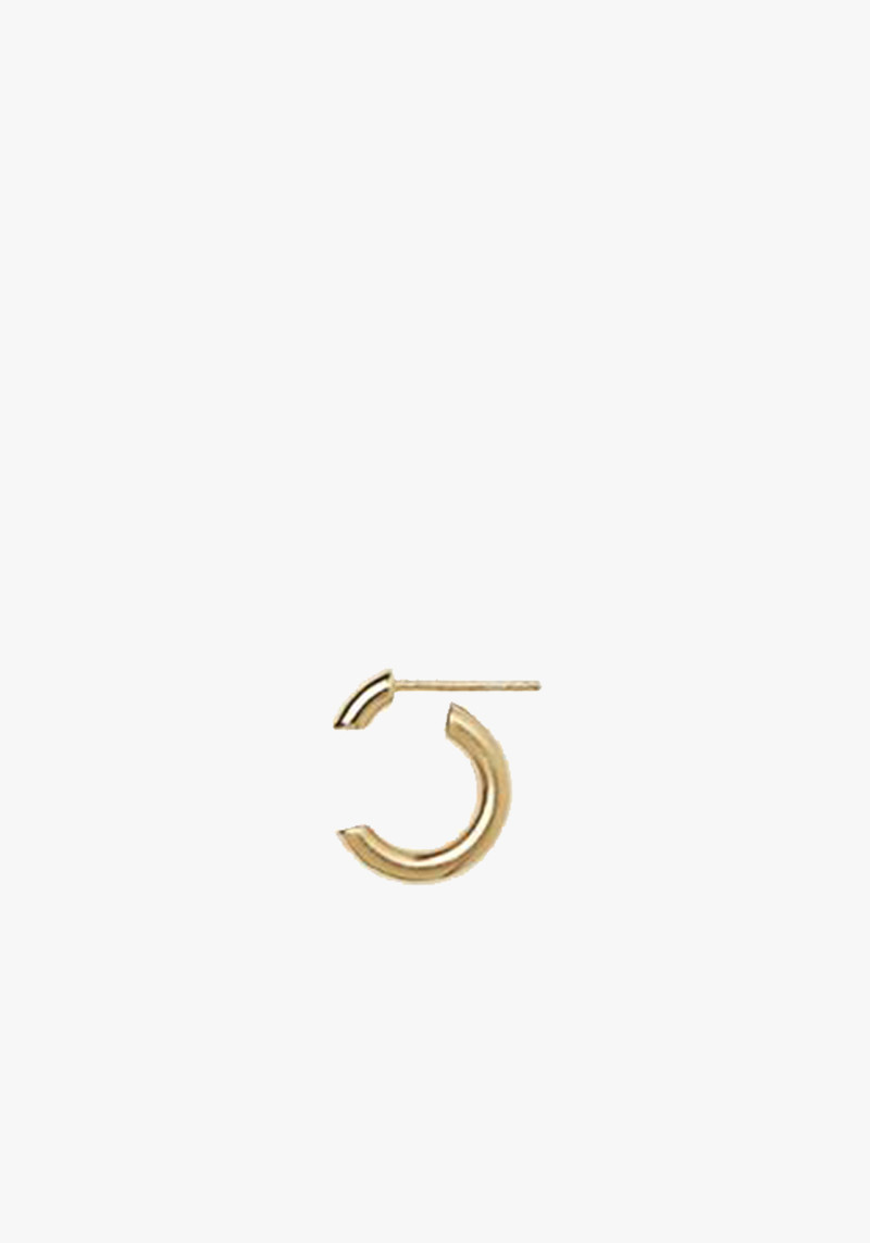 Maria Black Disrupted 14 Earring - Yellow Gold