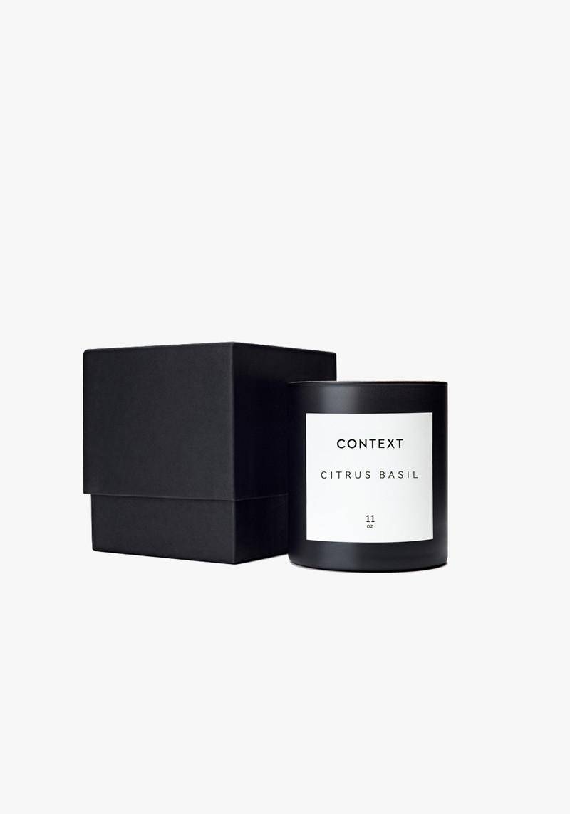 context skin citrus basil candle