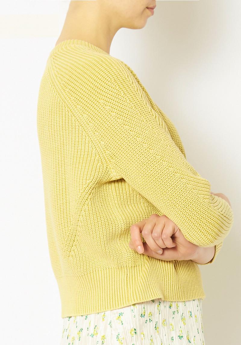 Demylee Lemon Chelsea Sweater