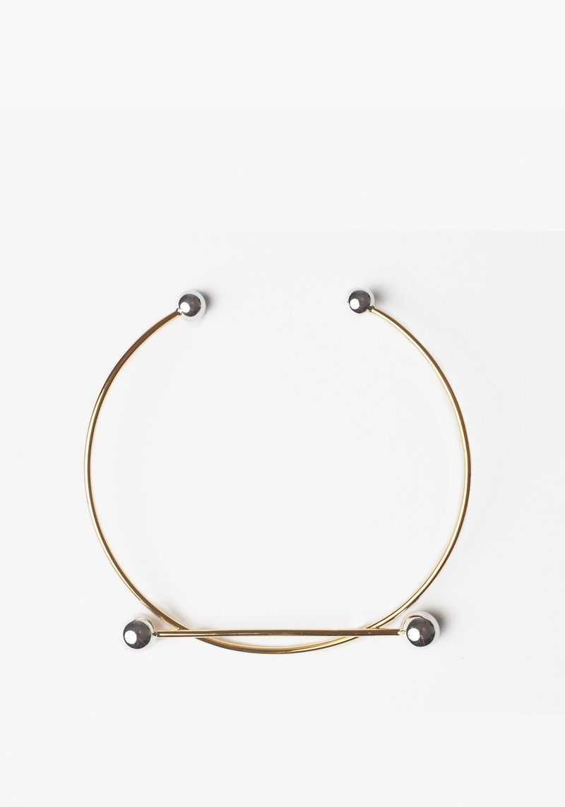 Maria Black two tone gold and silver choker