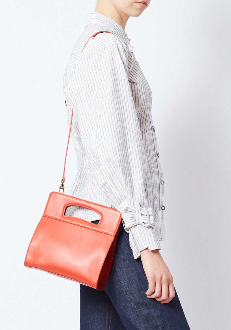 Creatures of Comfort red hang bag with detachable strap