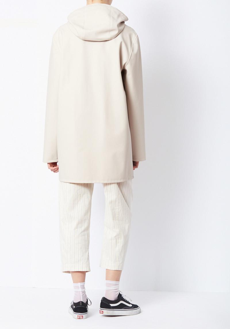 Stutterheim Light Sand Stockholm Raincoat from Sweden