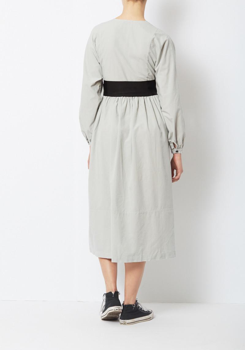 Kamperett Cornflower Blue Belted Cassat Dress