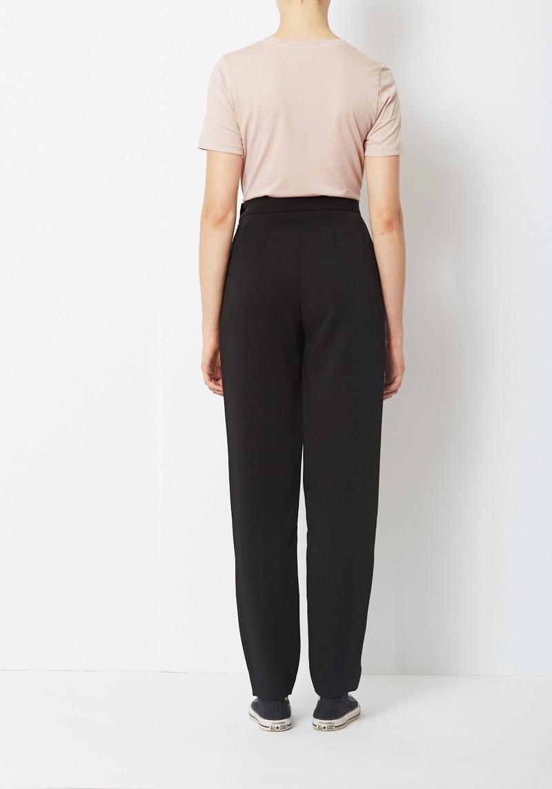 Paris Georgia Black High Waist Slim Suiting Trouser