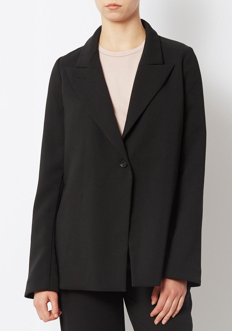 Paris Georgia Black slouchy Suiting Blazer