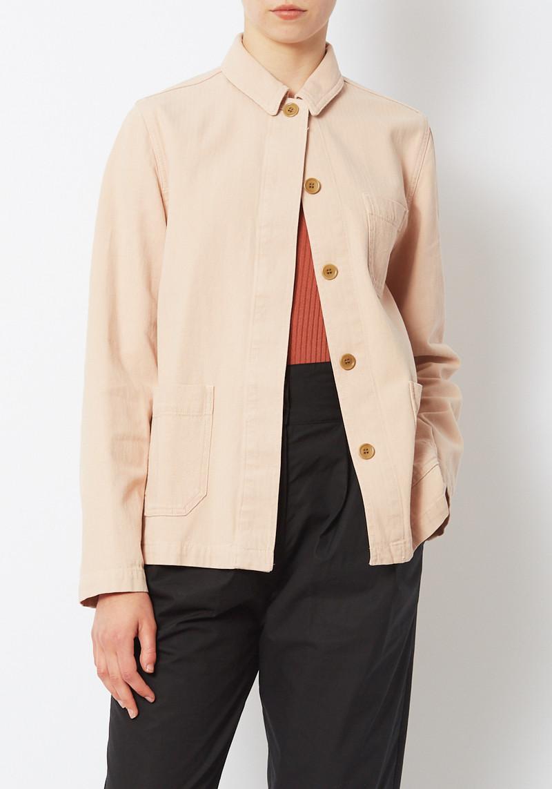 YMC London Light Pink Cotton Alma Jacket
