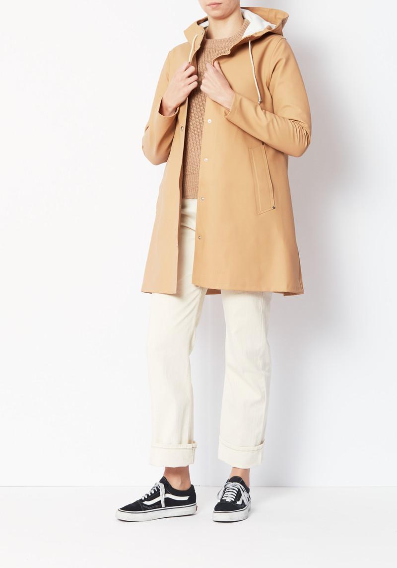 Stutterheim Camel Mosebacke Swedish Raincoat