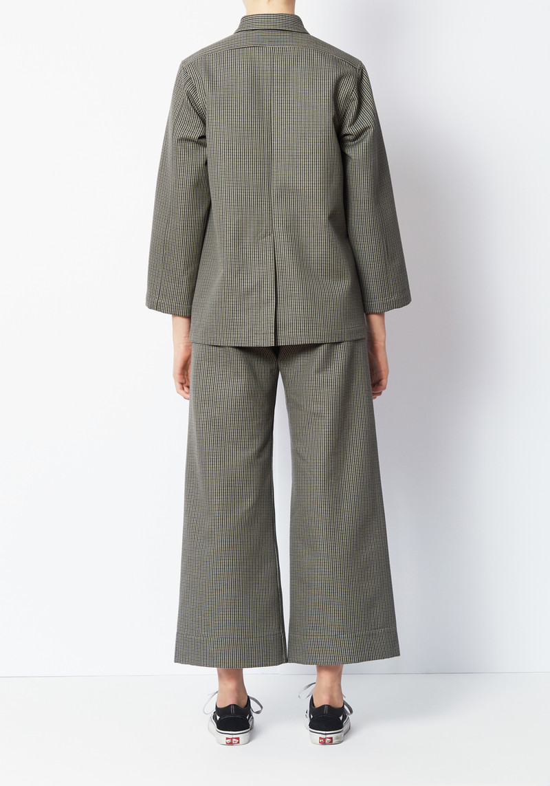 Creatures of Comfort Mini Check Perry Jacket