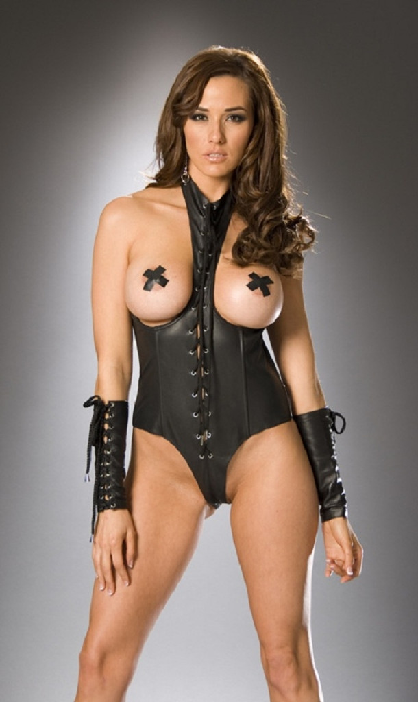 Leather Lace Up Arm Guards / Gloves