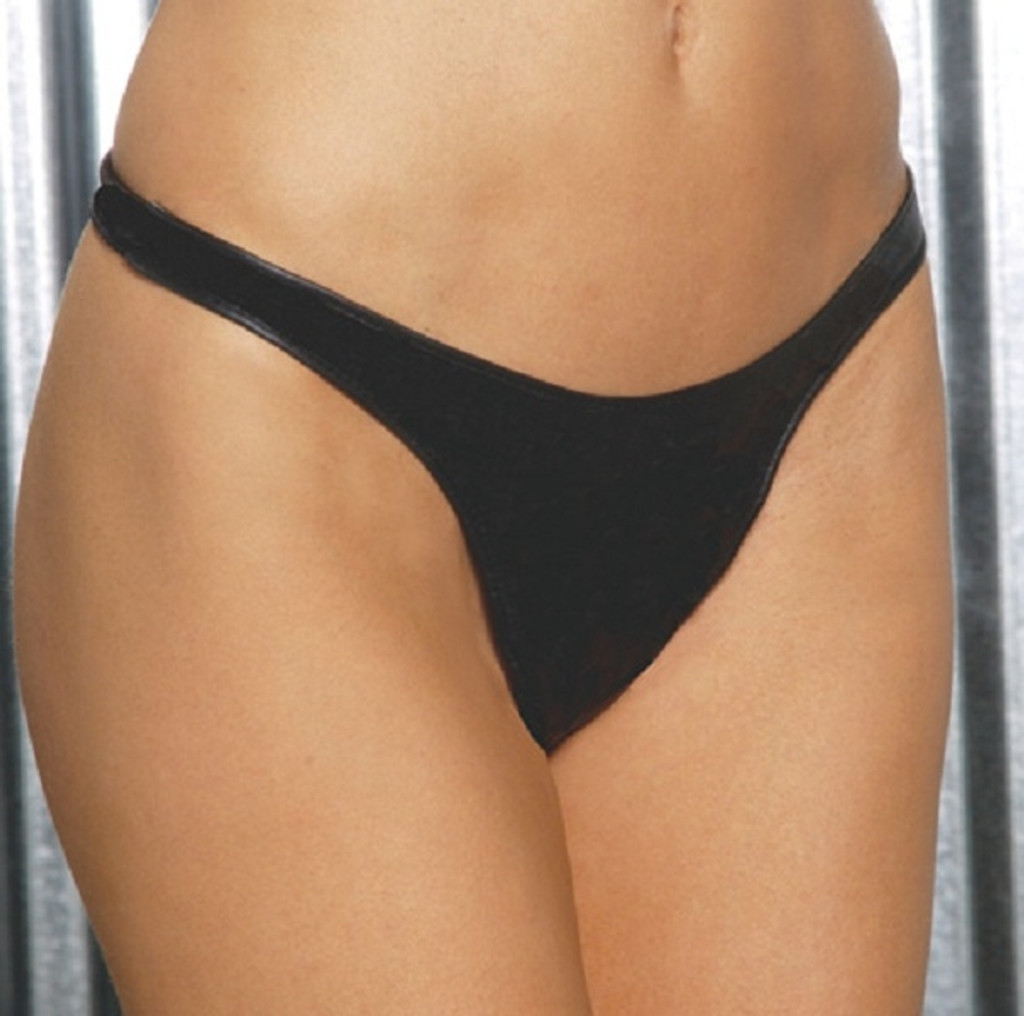 Classic Leather Thong - O/S and Queen