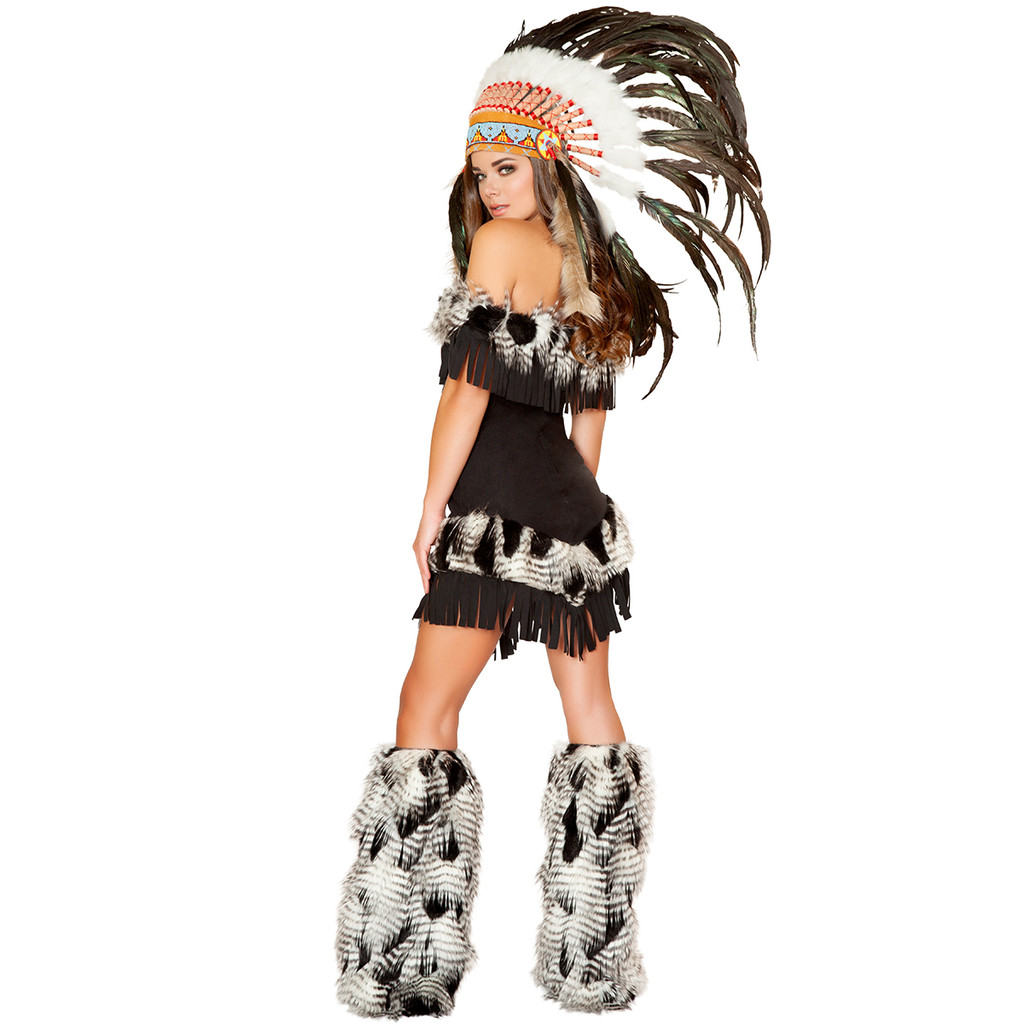 Cherokee Indian Princess Costume - Back -  © 2016 Roma Costumes, Inc.