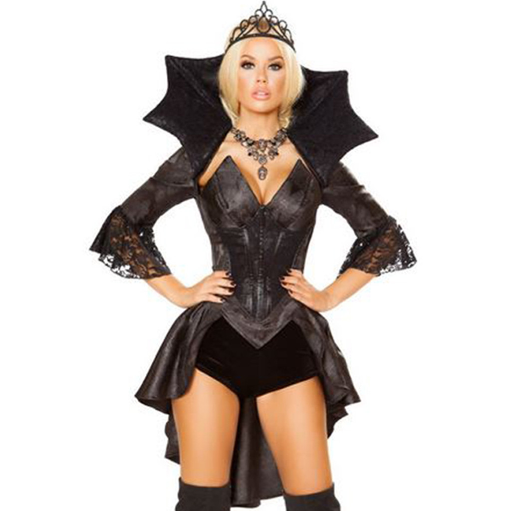 Style 4785 - 4 Pc Queen of Darkness - © 2017 Roma Costumes, Inc.