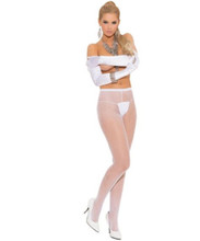 Fishnet Pantyhose - Black, Nude, Red or White - O/S and XL - Other colors available