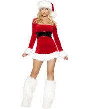 XMas Mini Dress - Front -  © 2016 Roma Costumes, Inc.
