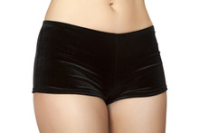 Shorts - Black - Front -  © 2016 Roma Costumes, Inc.