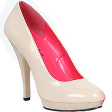 """Wide Width Classic Pump w 5"""" Heel - In 6 Colors and Sizes 6 to 14"""