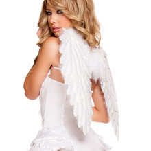 WHITE Angel Wings -  © 2016 Roma Costumes, Inc.