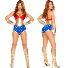 Mighty Comic Hero - Front / Back -  © 2016 Roma Costumes, Inc.