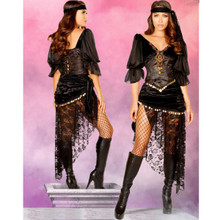5 Pc Gypsy Maiden Costume - Sz S - L - Genuine Roma Product