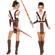 2 Pc Sexy Star Warrior Costume - Sz XS-XL