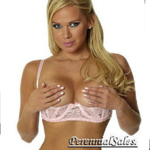 Lace Shelf Bra in Cup A, B, C - 5 Colors in Sizes 32 through 44