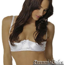 Shelf Bra - Satin - Fits A,B,C Cups - Multiple Colors Available in sizes 32 - 44
