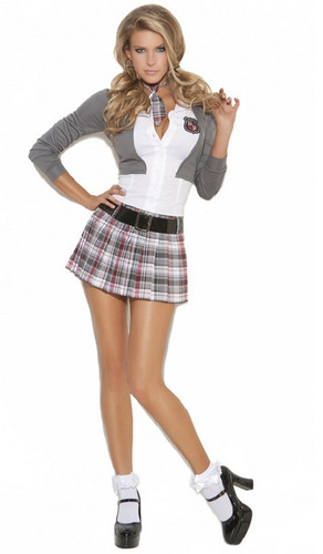 Queen of Detention - Naughty School Girl - Sizes up to 3X/4X