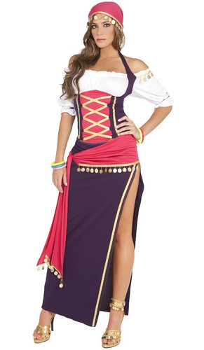 Gypsy Maiden Costume - Front