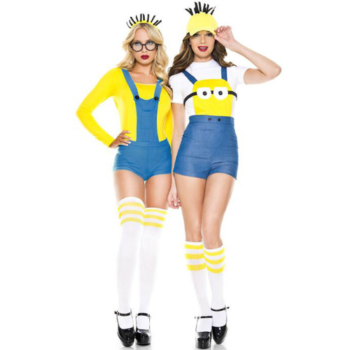 4 pc. Despicable Human Minion - Sz XS-ML