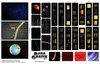 Paragrafix PGX184– Star Trek TOS Bridge Display Screens - FOR KIT: AMT 808/12 and Classic