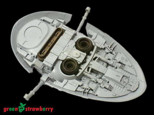 "Green Strawberry 1/144 ""SLAVE I"" Resin Thruster Nozzles"