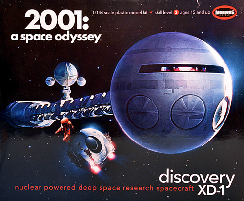 Moebius MMK2001-3 - 'Discovery XD-1' from 2001: A Space Odyssey