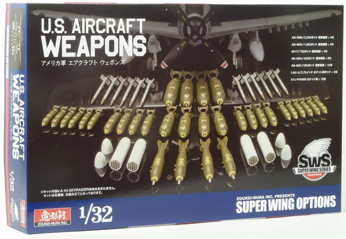 Zoukei Mura SWS03-M01 - 1:32 Aircraft Weapons Set for SKYRAIDER