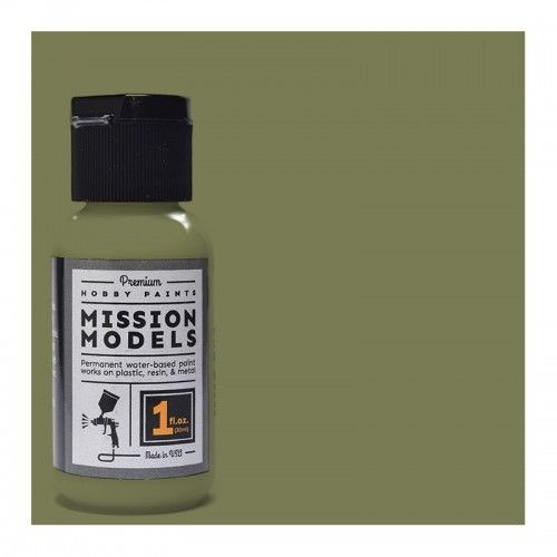 Mission Models MMP020 - US Army Olive Drab Faded 1 FS 34088 1fl.oz bottle