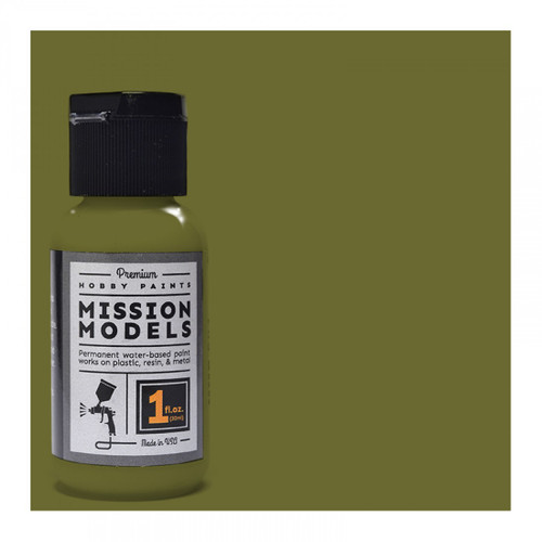 Mission Models MMP025 -US Army Olive Drab FS 34088 1fl.oz bottle