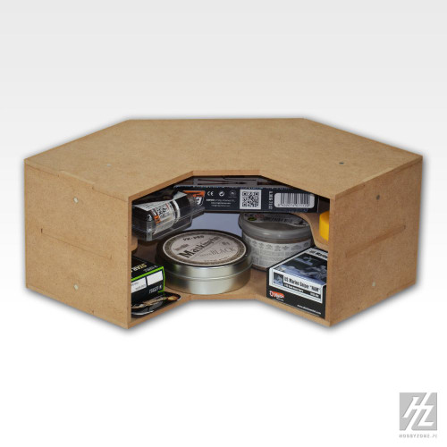 HobbyZone OM04 - 90 degree Corner Shelves Module Unit