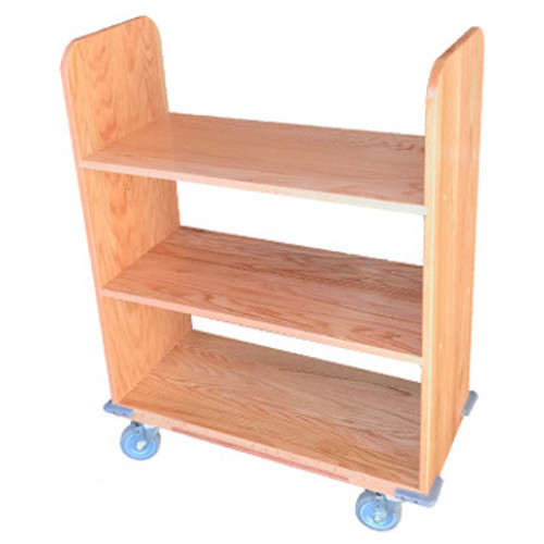 Booktruck - Solid Oak