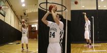 Barry Hecker Get It Up Shooting Hoop Basketball Training Aid