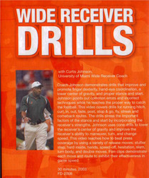 (Rental)-WIDE RECEIVER DRILLS DVD(JOHNSON)