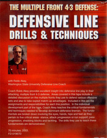 (Rental)-THE MULTIPLE FRONT 4-3 DEFENSE:DEFENSIVE LINE