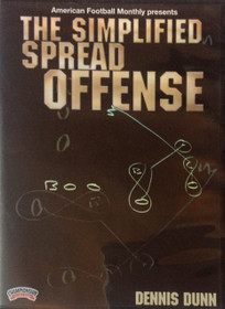 THE SIMPLIFIED SPREAD OFFENSE DVD(DUNN) by Dennis Dunn Instructional Basketball Coaching Video