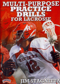 Multi-Purpose Practice Drills for Lacrosse by Jim Stagnitta Instructional Basketball Coaching Video