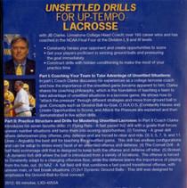 (Rental)-Unsettled Drills for Uptempo Lacrosse