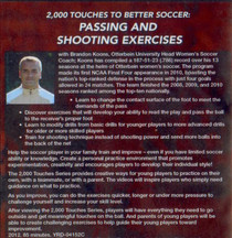 (Rental)-2000 Touches to Better Soccer: Passing & Shooting Drills
