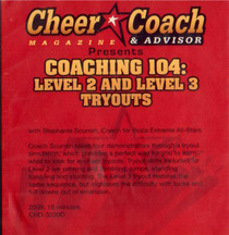 (Rental)-Cheer  Coach Magazine: Coaching 104: Level 2 & 3 Tryouts