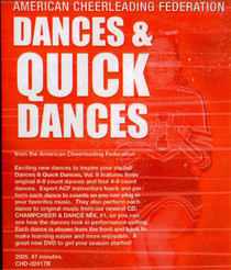 (Rental)-American Cheerleading Federation: Dances & Quick Dances
